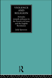 Violence and Religion by Judy Sproxton
