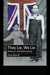 They Lie, We Lie by Peter Metcalf
