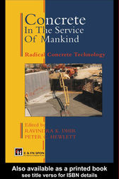 Concrete in the Service of Mankind by Ravindra Dhir