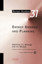 Energy Demand and Planning by J.C. McVeigh