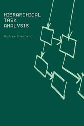 Hierarchial Task Analysis by Andrew Shepherd