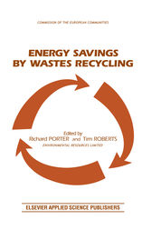 Energy Savings by Wastes Recycling by R. Porter