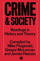 Crime and Society by Mike Fitzgerald