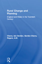 Rural Change and Planning by Iain Gordon Cherry