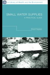 Small Water Supplies by David Clapham