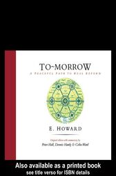 To-Morrow by Sir Peter Hall