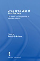 Living at the Edge of Thai Society by Claudio Delang