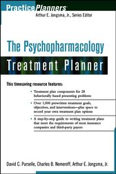 The Psychopharmacology Treatment Planner by David C. Purselle