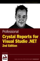 Professional Crystal Reports for Visual Studio .NET by David McAmis