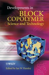 Developments in Block Copolymer Science and Technology by Ian W. Hamley