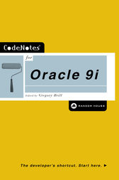 CodeNotes for Oracle 9i by Gregory Brill