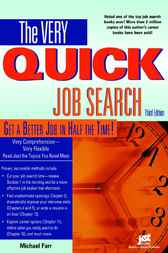 The Very Quick Job Search, Third Edition by Michael Farr
