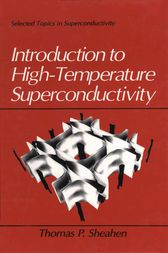 Introduction to High-Temperature Superconductivity by Thomas Sheahen