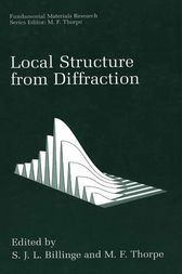 Local Structure from Diffraction by S.J.L. Billinge