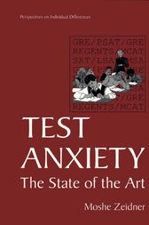 Test Anxiety by Moshe Zeidner