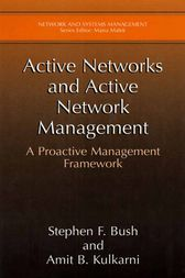 Active Networks and Active Network Management by Stephen F. Bush
