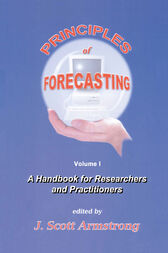 Principles of Forecasting by J.S. Armstrong