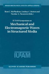 IUTAM Symposium on Mechanical and Electromagnetic Waves in Structured Media by Ross C. McPhedran