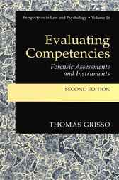Evaluating Competencies by Thomas Grisso