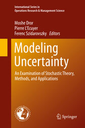Modeling Uncertainty by Moshe Dror