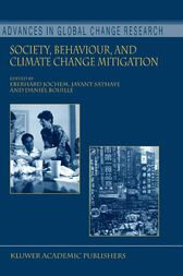 Society, Behaviour, and Climate Change Mitigation by Eberhard Jochem