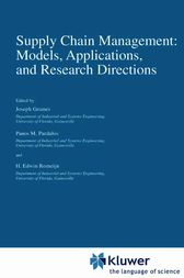 Supply Chain Management: Models, Applications, and Research Directions by Joseph Geunes