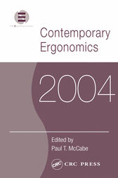Contemporary Ergonomics 2004 by Paul T. McCabe