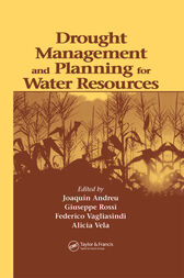 Drought Management and Planning for Water Resources by Joaquin Andreu Alvarez
