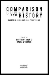 Comparison and History by Deborah Cohen
