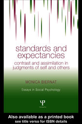 Standards and Expectancies by Monica Biernat