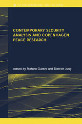 Contemporary Security Analysis and Copenhagen Peace Research by Stefano Guzzini