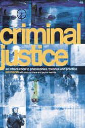 Criminal Justice by Ian Marsh