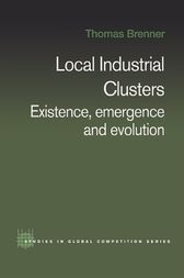 Local Industrial Clusters by Thomas Brenner