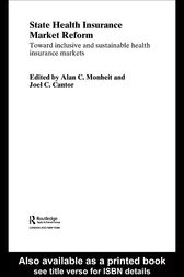State Health Insurance Market Reform by Joel C. Cantor