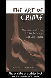 The Art of Crime by Leslie Kane
