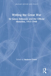 Writing the Great War by Andrew Green