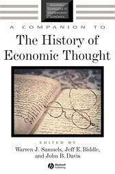 A Companion to the History of Economic Thought by Warren J. Samuels