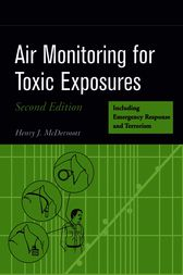 Air Monitoring for Toxic Exposures by Henry J. McDermott