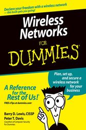 Wireless Networks For Dummies by Barry D. Lewis