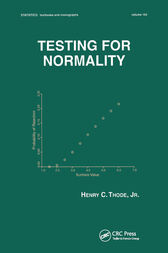Testing For Normality by Henry C. Thode