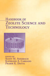 Handbook of Zeolite Science and Technology by Scott M. Auerbach