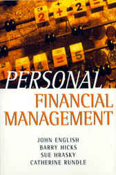 Personal Financial Management by John W. English
