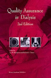 Quality Assurance in Dialysis by L.W. Henderson