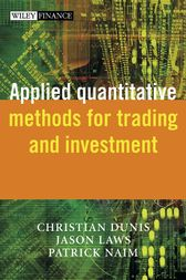 Applied Quantitative Methods for Trading and Investment by Christian L. Dunis