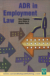ADR in Employment Law by Stephen Hardy