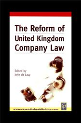 Reform of UK Company Law by John De Lacy