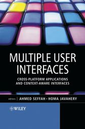 Multiple User Interfaces by Ahmed Seffah