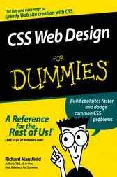 CSS Web Design For Dummies by Richard Mansfield