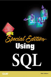 Special Edition Using SQL by Rafe Colburn