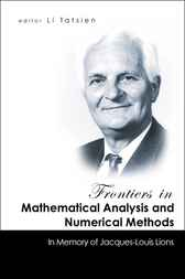 Frontiers In Mathematical Analysis And Numerical Methods by Li Tatsien